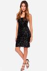 Little Black Dress Lbd Sequin Dress Midi Dress 4600