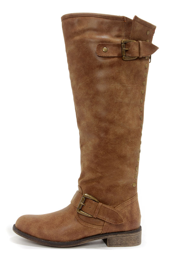 Cute Knee-High Boots - Riding Boots - Brown Boots - $79.00