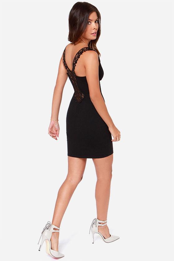 Heart Full of Soul Black Lace Dress at Lulus.com!