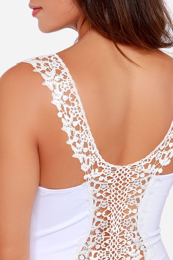Heart Full of Soul Ivory Lace Dress at Lulus.com!