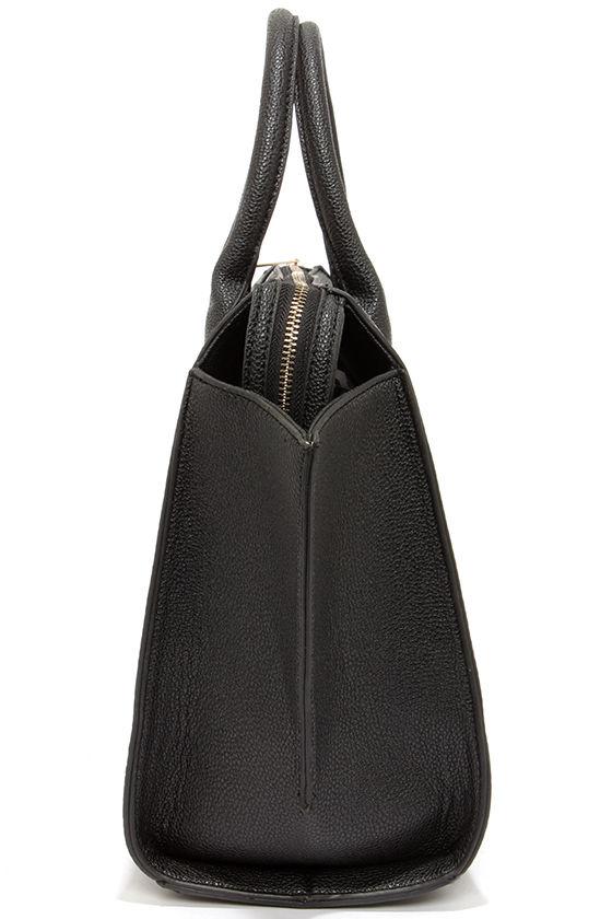 Wing-Woman Black Handbag 5
