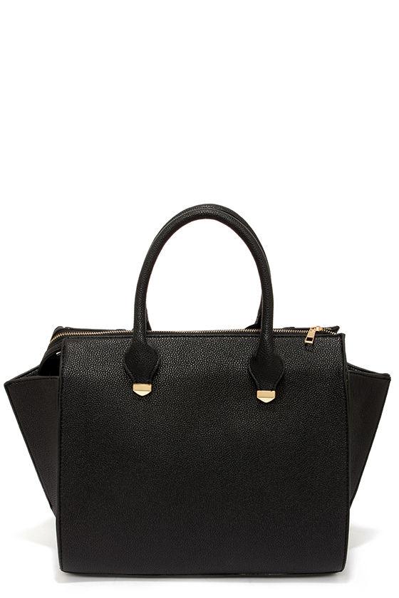 Wing-Woman Black Handbag 6