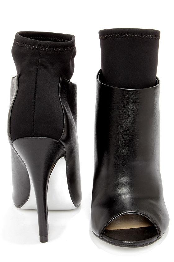 00272b2ba4 Kristin Cavallari Chinese Laundry Laney - Black Leather Booties ...