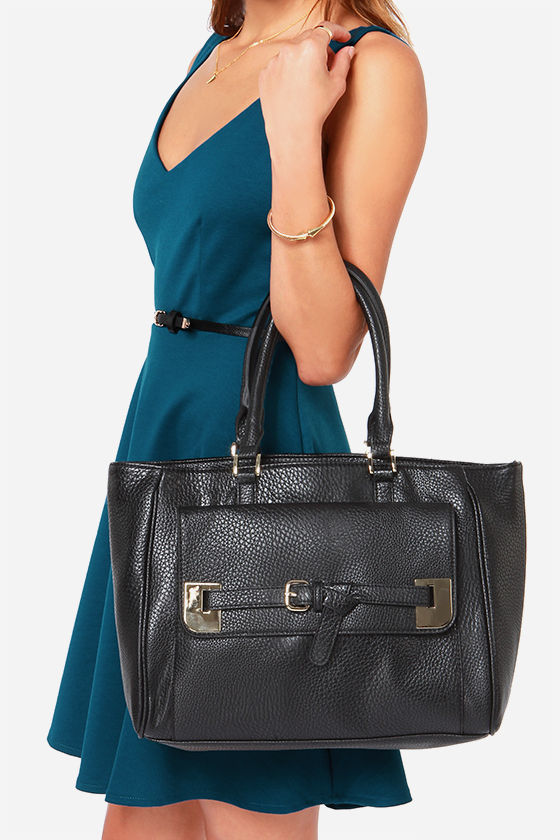 Big Buddha Colby Black Handbag at Lulus.com!