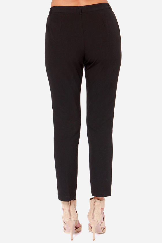 Darling Ida Black Pants at Lulus.com!