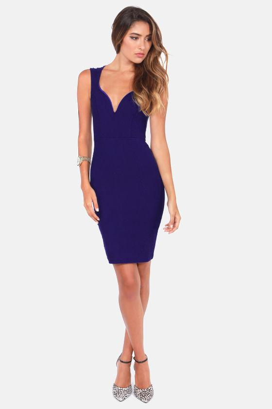 Blue sexy dresses