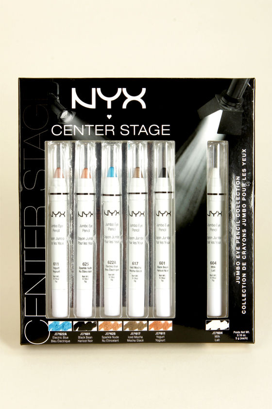 NYX Center Stage Jumbo Eye Pencil Kit at Lulus.com!