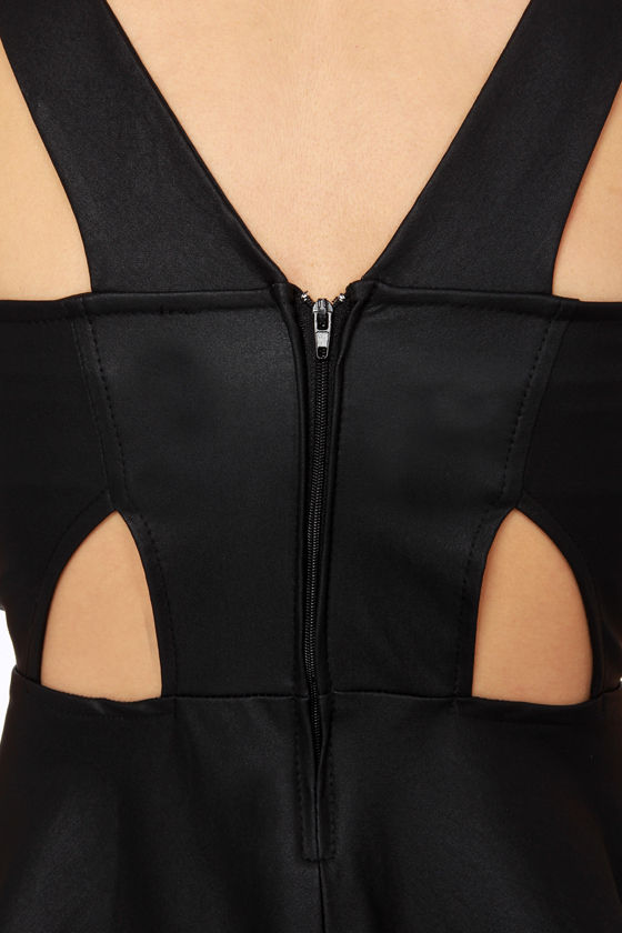 Rock �n� Roll Princess Black Peplum Top at Lulus.com!