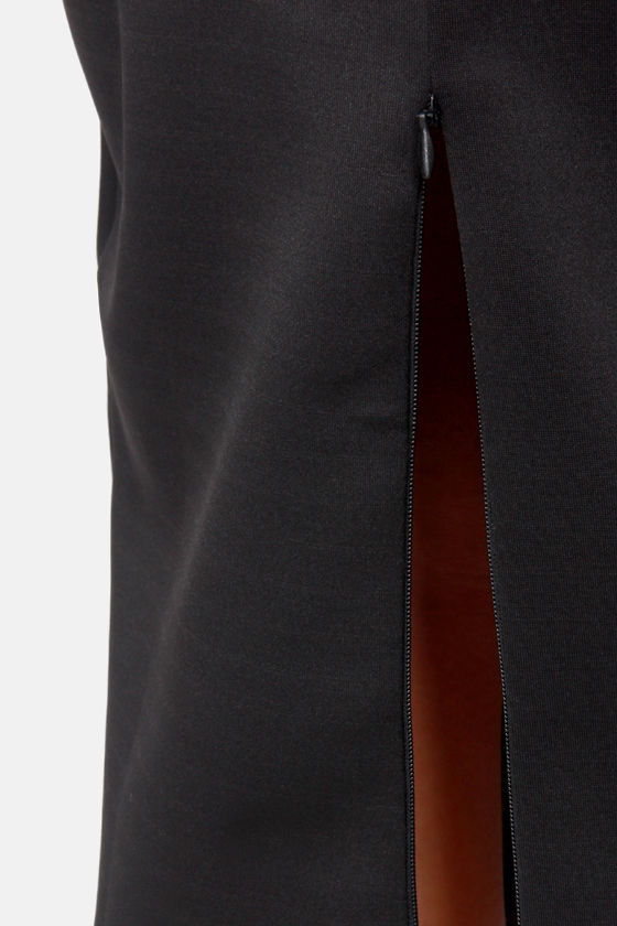 The Pencil is Mightier Black Pencil Skirt at Lulus.com!
