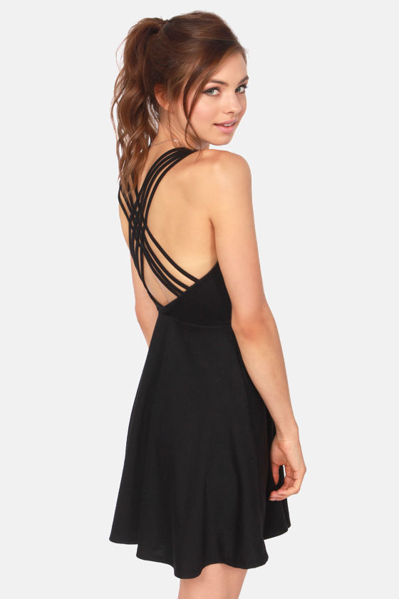 Backless Little Black Dresses