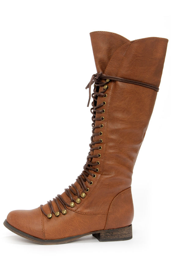 boots lace up boots knee high boots 49 00