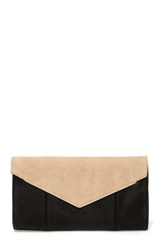 cute beige clutch black clutch envelope clutch. Black Bedroom Furniture Sets. Home Design Ideas