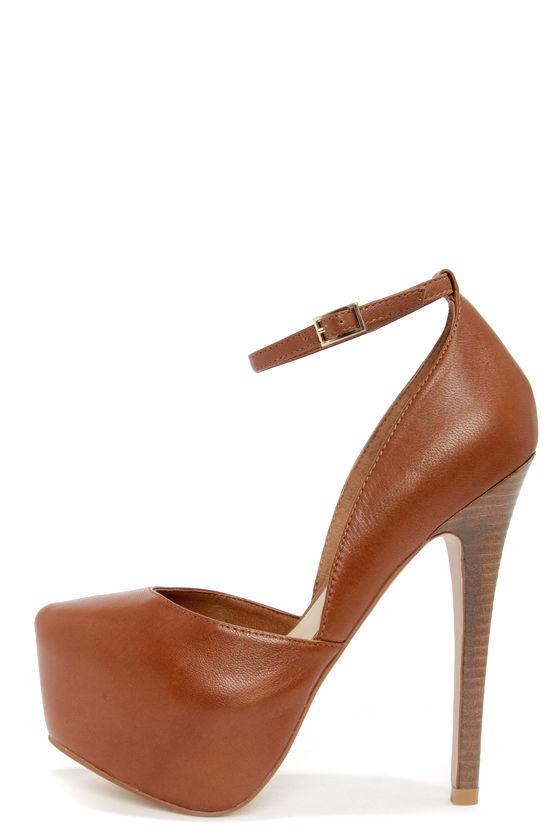 Sexy Leather Pumps D Orsay Heels Platform Pumps 99 00