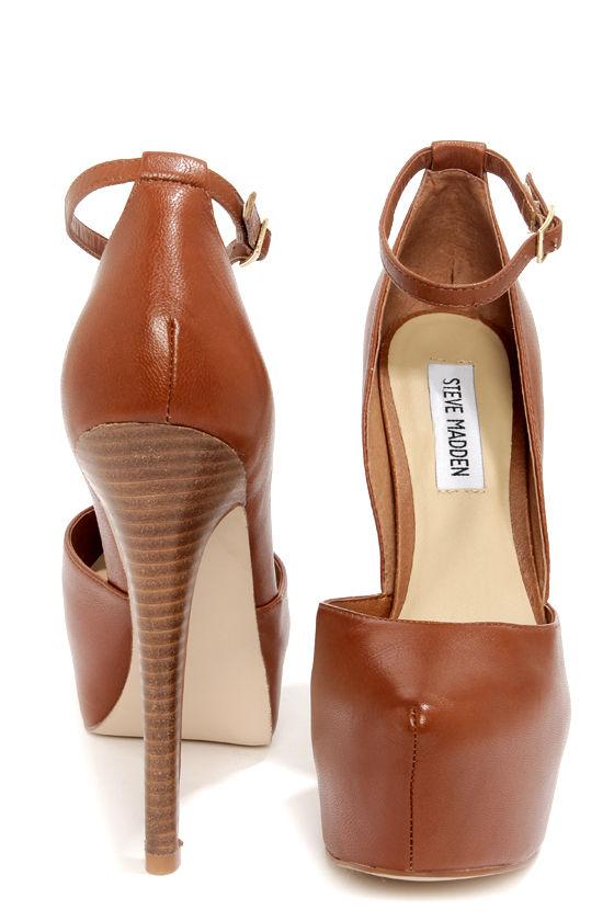 9c29b232f2a Sexy Leather Pumps - D Orsay Heels - Platform Pumps -  99.00