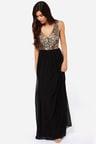 Sequin Dress Black Dress Maxi Dress 8800
