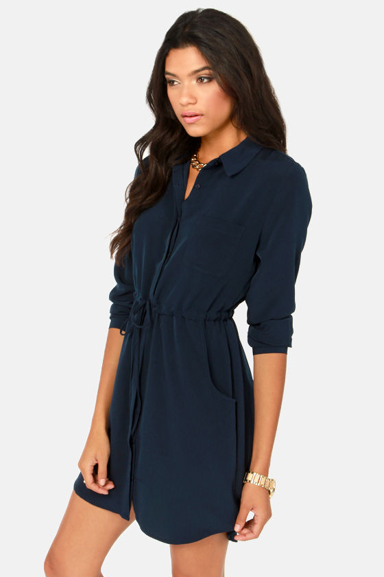 Long Navy Blue Dress Shoes