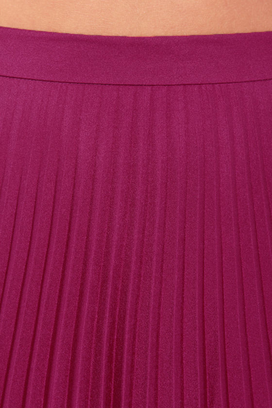 Blaque Label Mermaid's Path Magenta Maxi Skirt at Lulus.com!