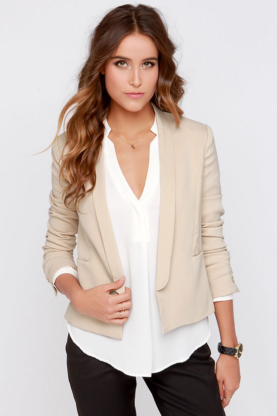 Shop for beige blazers womens online at Target. Free shipping on purchases over $35 and save 5% every day with your Target REDcard.