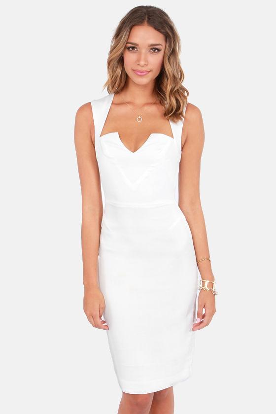 8ef08d8e2b5 Rubber Ducky Dress - Ivory Dress - Backless Dress - White Dress -  99.00