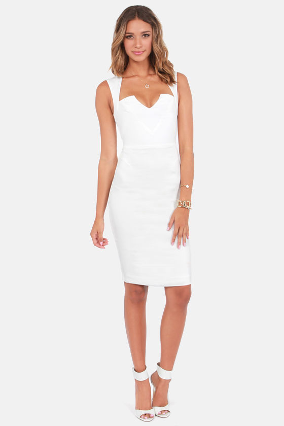 Rubber Ducky Cocktail Party Backless Ivory Dress at Lulus.com!