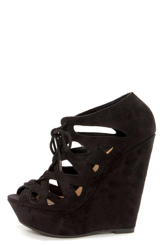 My Delicious Shoes Black Heels