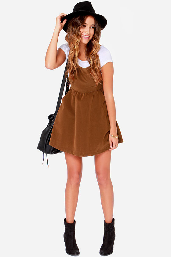 3b87c309087 Ladakh Velvet Underground - Brown Dress - Corduroy Dress -  95.00