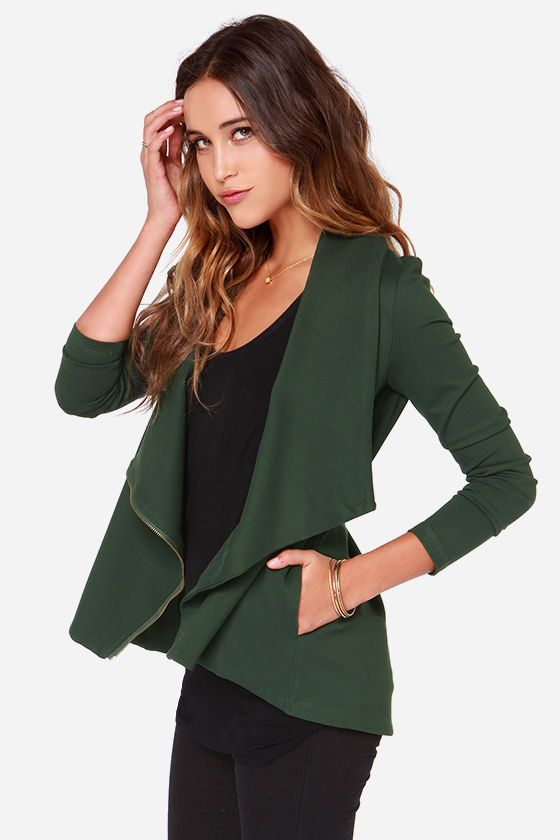 Forest Green Jacket