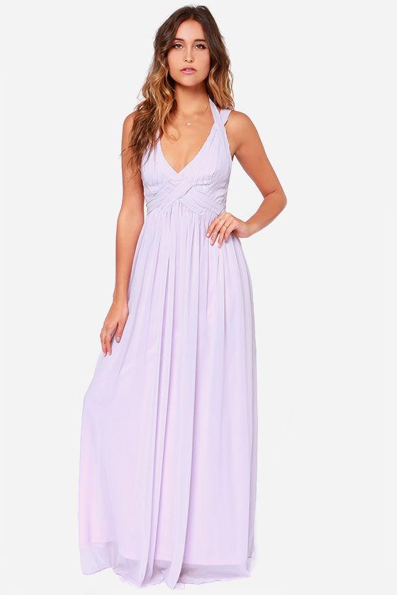 Lavender Maxi Dress