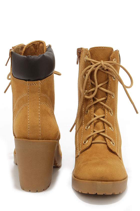 boots high heel work boots ankle boots 36 00