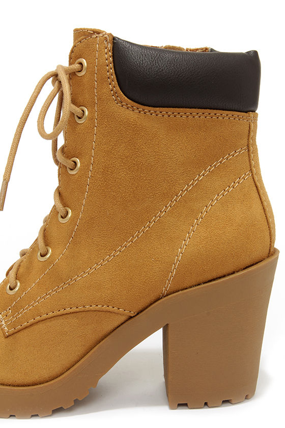 Womens Work Boots With High Heels 8