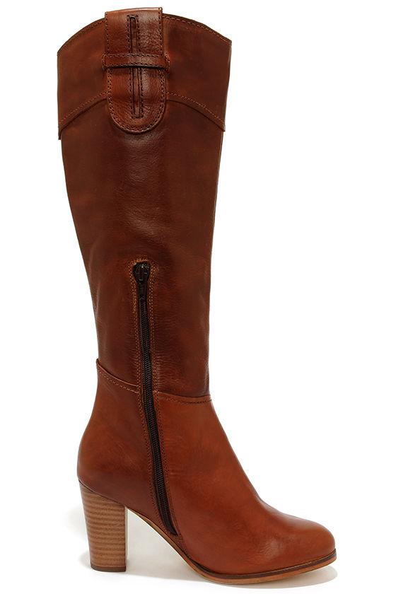 Sexy Tan Boots Knee High Boots High Heel Boots 167 00