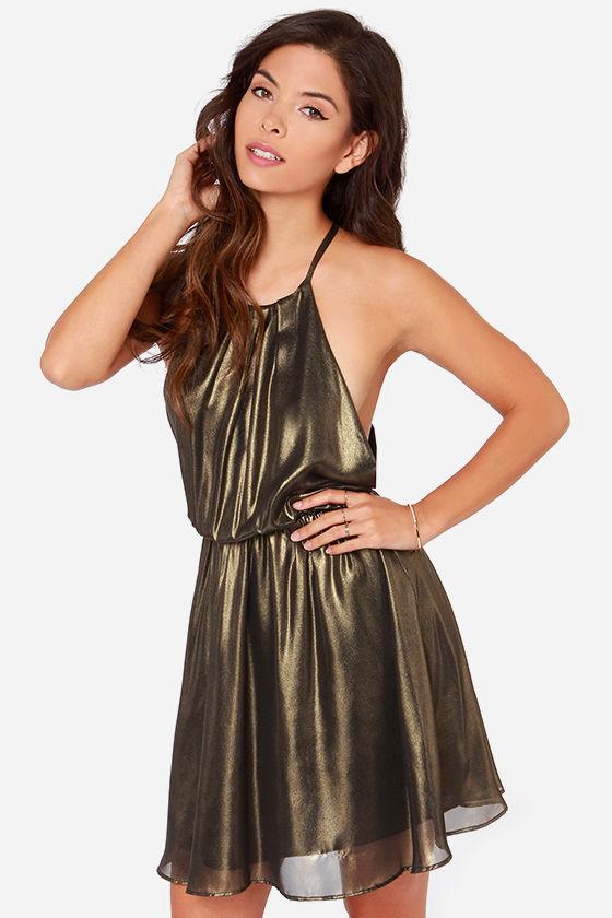 Treasure Huntress Bronze Dress