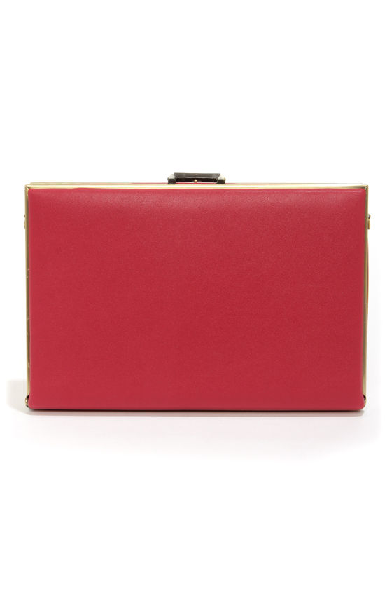 Beat-Box Champion Red Clutch at Lulus.com!