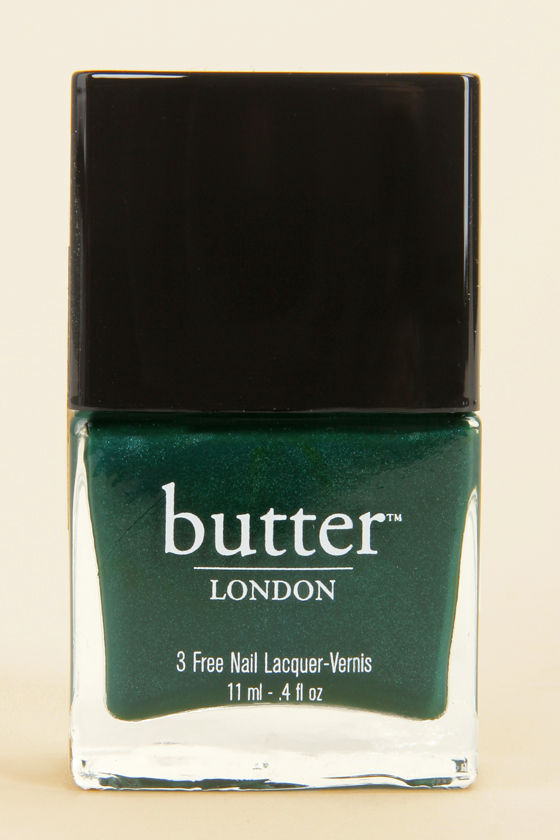 Butter London British Racing Green Nail Lacquer - Green Nail Lacquer ...