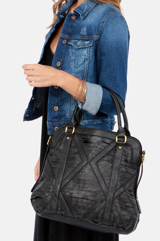 The Grateful Shred Black Tote at Lulus.com!