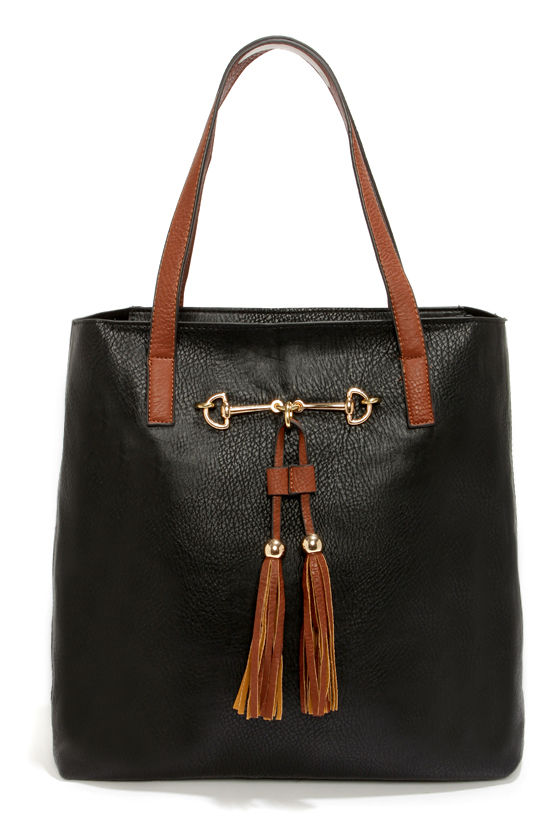 Two Peas in a Pod Black Tote at Lulus.com!