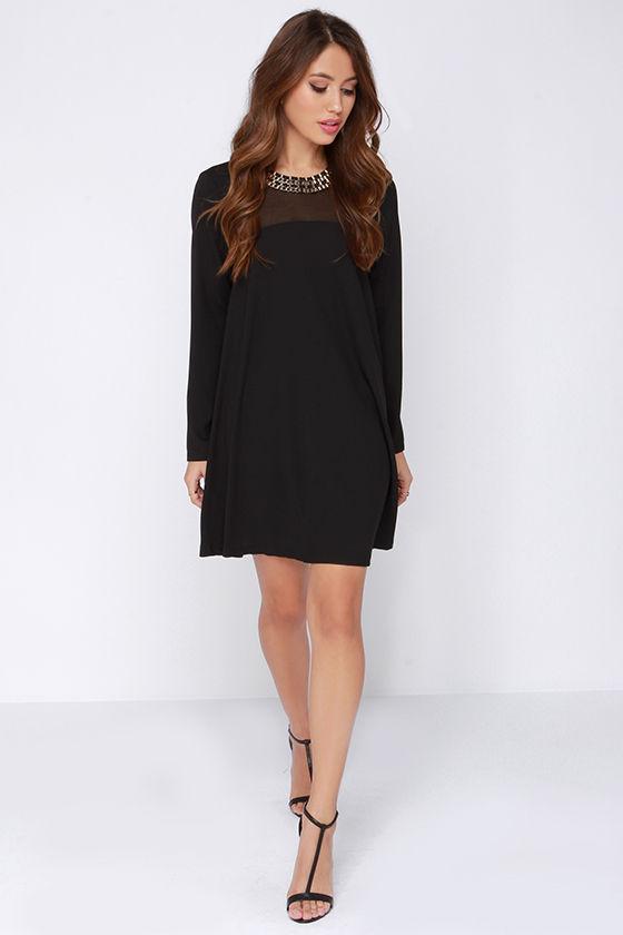 3/4 long sleeve dresses