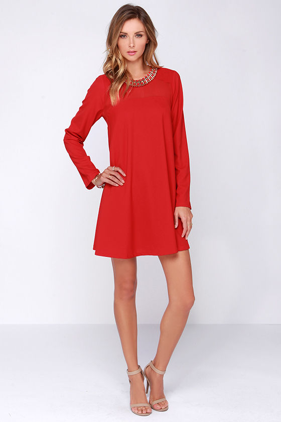 Perfect for spring & summer, the red shift dress transitions from day to night & comes in every shade of the season's hottest hue + 50% off your 1st order!