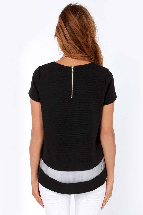 What a Strip! Black Top at Lulus.com!