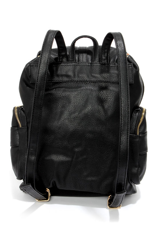 Steve Madden BZiaa Black Backpack at Lulus.com!