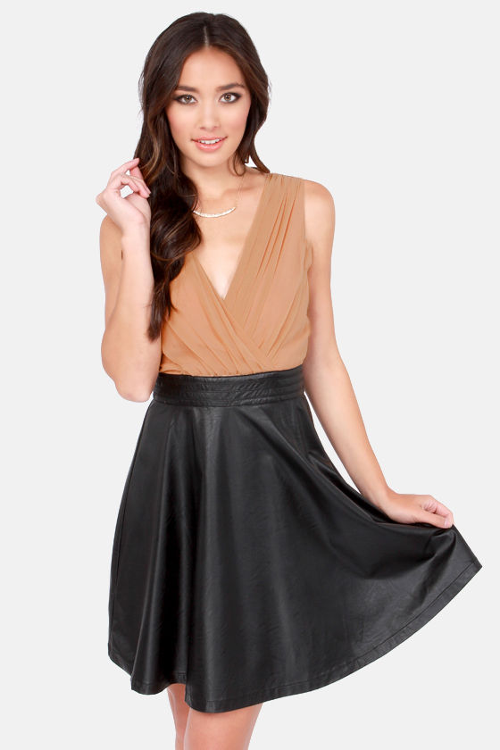 Have Mercy Blush and Black Dress at Lulus.com!