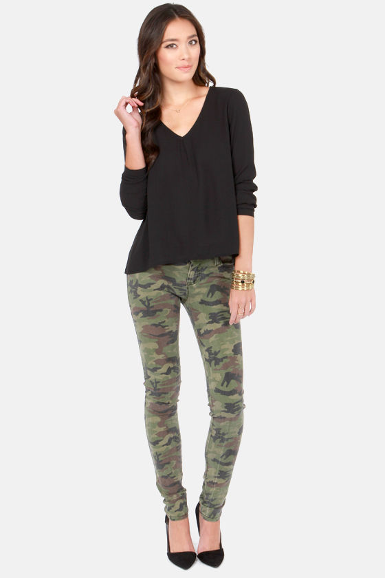 The Classics Black Long Sleeve Top at Lulus.com!