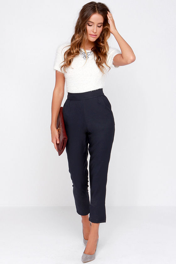 Find great deals on eBay for high waisted navy blue pants. Shop with confidence.