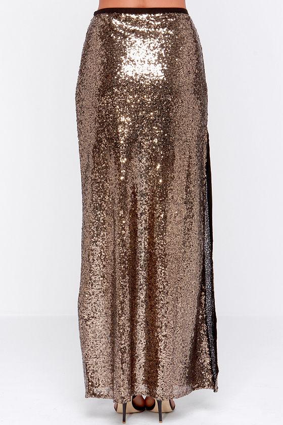 gold sequin maxi skirt newhairstylesformen2014