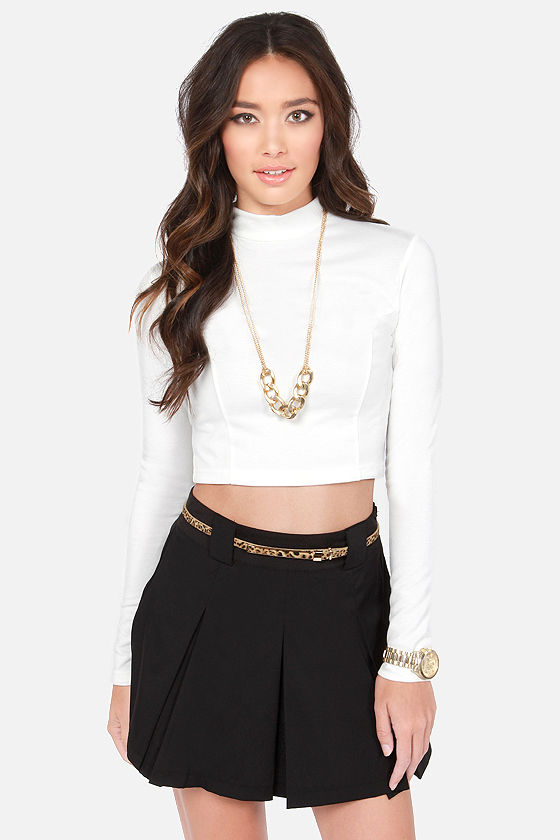 Show Who's Boss Ivory Crop Top at Lulus.com!