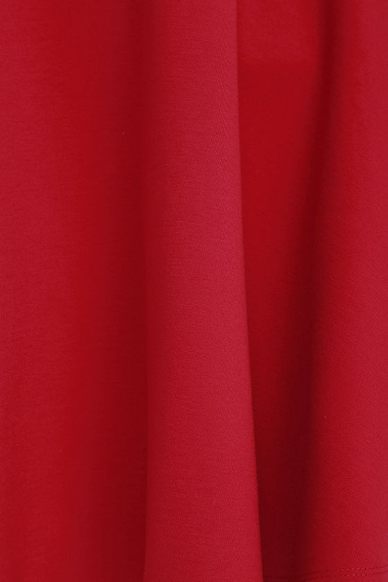 LULUS Exclusive Tip the Scallops Red Dress 6