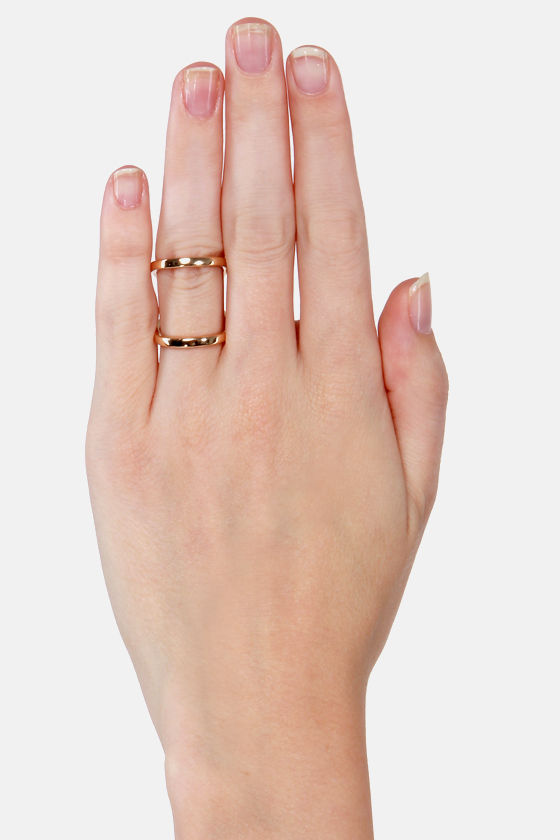 Swerve Appeal Gold Ring at Lulus.com!