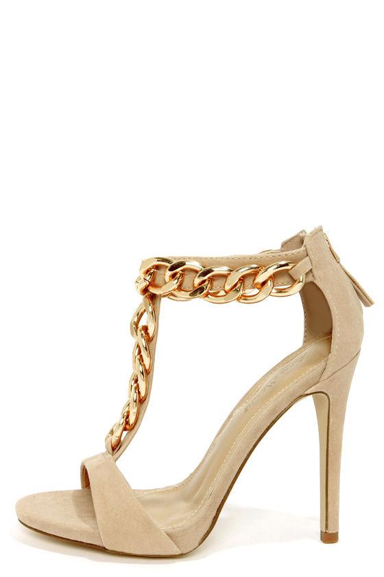 blush heels dress sandals t heels 45 00