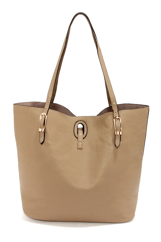 Howdy Beauty Taupe Tote at Lulus.com!