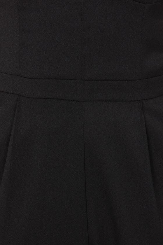 Ground Breaking Black Jumpsuit at Lulus.com!